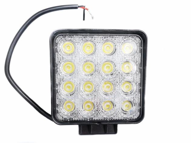 Lampa Robocza Panel LED 48 Wat OFF ROAD diodowa 12V 24 V